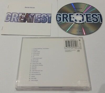 DURAN DURAN - GREATEST HITS CD best of