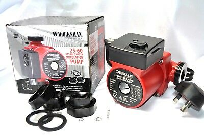 Worksman 25-60 Central Heating Hot Water Circulator Pump Replace Grundfos/Myson