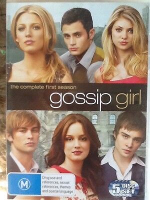 GOSSIP GIRL - SEASON 1 - DVD - 5 disc set - ALL REGIONS # 1405