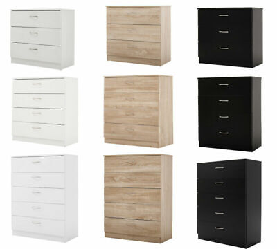 Chest of drawers draws Bedroom furniture Hallway storage 3 4 5 Drawers 3 Colours