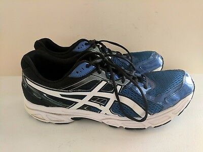 Asics Gel Contend 2 Men s Blue Black Sliver Running Shoes Size 13 T426N GUC 5e0993017a7