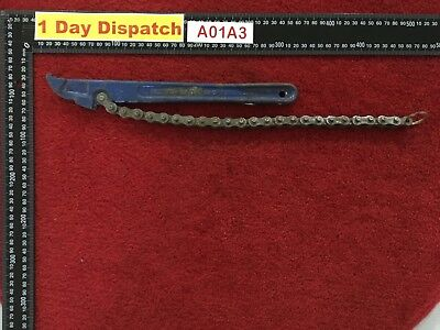 RECORD 240 DROP FORGED STEEL CHAIN WRENCH-Made in England