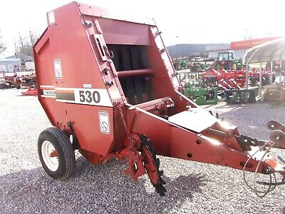 HESSTON 530 ROUND Baler ---bale size 4x4 CAN SHIP @ $1 85 loaded mile