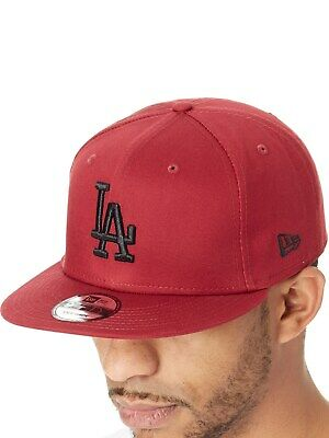 New Era Cardinal-Black League Essential 9Fifty Los Angeles Dodgers Snapback  Cap 1aa39cc8d87