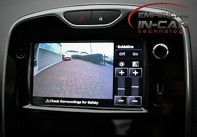 Renault Clio 4 - Reverse Reversing Camera Kit - 2013 Onwards