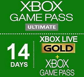 Xbox Game Pass Ultimate 1 month (2 x 14 days)-Xbox Live Gold + Game pass Global