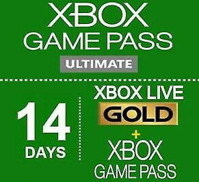 Xbox Live 1 month (2 x 14 day) Membership Code Xbox One Only (Region Free)