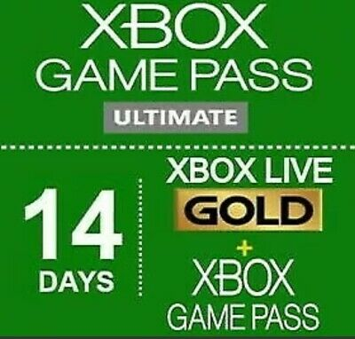 Xbox Game Pass Ultimate 14 days - Xbox Live Gold + Game pass (Region Free)