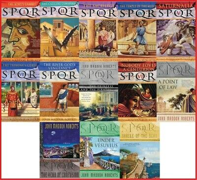 13 Audiobooks - SPQR Series by John Maddox Roberts Collection MP3-DVD
