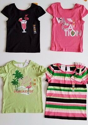 c9824b318 NWT GYMBOREE PALM BEACH PARADISE FLAMINGO GREEN PALM TREE TANK TOP SHIRT  Tops & T-Shirts