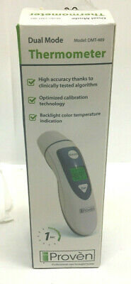 iProven Dual Mode Medical Forehead Ear Thermometer DMT-489      AI6-3a