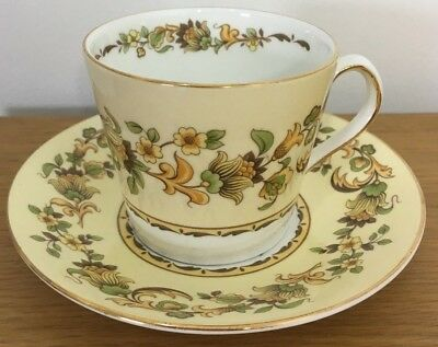 Eliabethan Fine Bone China Tea Cup and Saucer Set