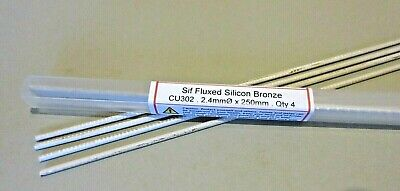 Sif Fluxed Bronze Brazing Rods General Purpose - Joins Copper Steel Brass