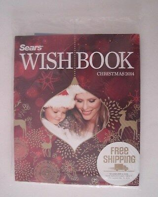 2014 Sears Canada Christmas Wish Book Catalogue   ~  Brand New & Sealed