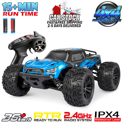 Hosim 1:16 Scale 2.4Ghz 4WD RC Monster Truck Radio Remote Control Car Off Road