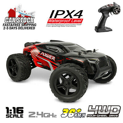 Hosim 1:16 Scale 4WD RC Car Remote Control Monster Truck High Speed Off Road RTR