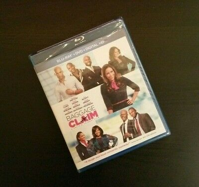 Baggage Claim (2013) 2-Disc Blu-ray + DVD Combo Set, Brand New & Factory Sealed