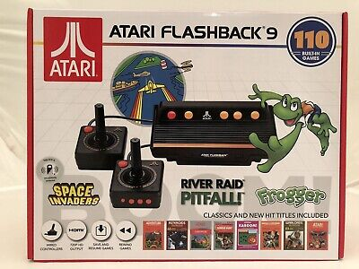 ATARI FLASHBACK 9 Console with 2 Controllers + 110 Built In Video Games NEW