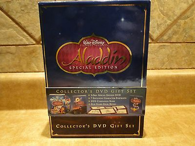 Walt Disney Pictures Aladdin Collector's Dvd Gift Set, Excellent Condition