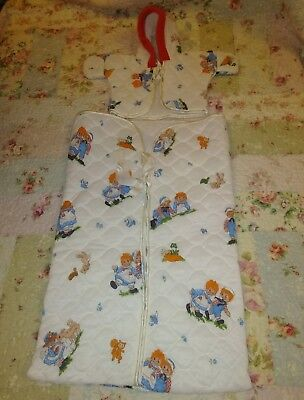 Vintage Baby Raggedy Ann & Andy 2 Pc Set Quilted Top & Sleeper Sack 0-9 Months
