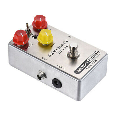 MOSKY Ultimate Drive Overdrive Guitar Effect Pedal Sustain-laden Distortion