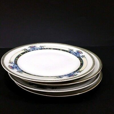 """Noritake Daventry  Salad plate Set of 4 7 5/8"""" Japan P 69544 other set available"""
