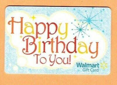 Collectible Walmart Gift Card