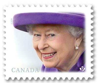 2019 Canada ~ QUEEN ELIZABETH II ~ From Booklet MNH ~ Popular Series & FREE Ship