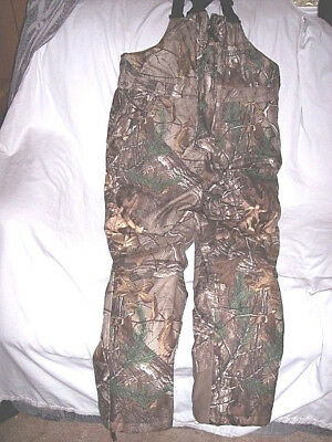 a34dc8096cac9 Boys Large Realtree Camo Bib Overalls Insulated Bibs Camo Coveralls Hunting  Warm