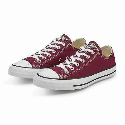 1832dbaabc20 MEN S CONVERSE CHUCK Taylor All Star Low Ox M9691 Sz 6 Maroon Canvas ...