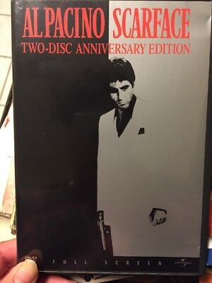 Scarface DVD 2003 Digitally Remastered Anniversary Ed In/Depth Special Features