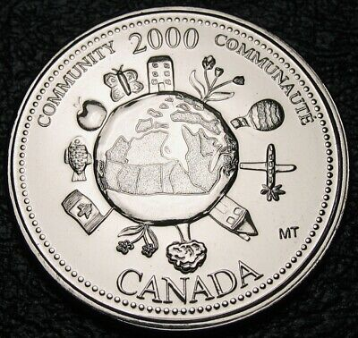 RCM - 2000 - 25-cents - Community ( December ) - Proof Like - Uncirculated