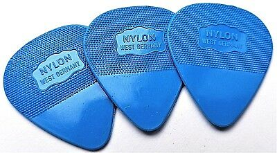 Herdim guitar picks U2s  Favorite Pick Blue 3 picks