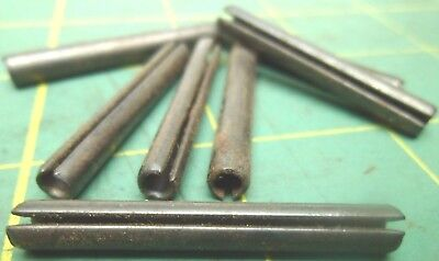 3/16 X 1-1/2 SLOTTED SPRING PINS STEEL LAWSON 11491 (Qty 114) #60835