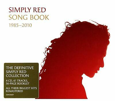 062528 Simply Red - Simply Red: Song Book 1985-2010 (4 Cd) (CD)  Nuevo 