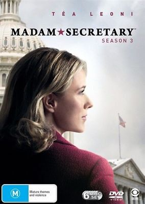 Madam Secretary : Season 3 : NEW DVD