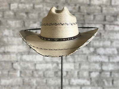 NEW BLACK CREEK Bc9006 Seagrass Straw Fedora Cowboy Western Hat ... c50ec36bd6ed