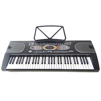 Clavier DynaSun MK2085 USB LCD 61 Touches E-Piano Keyboard Fonction Enseignement