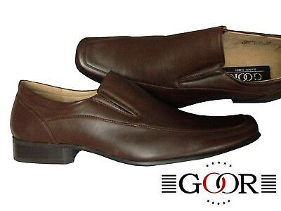 f20b83af6fc GOOR CLASSIC SHOES Chaussures Mocassins Homme Marron Brown Taille 43 ...