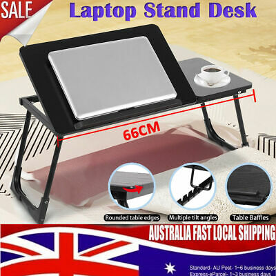 Portable Folding Laptop Desk Lap Bed Table lap Stand Tray Computer Adjustable