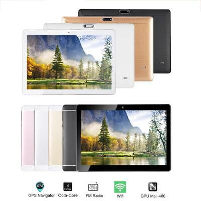 """10.1"""" Tablet PC 4G+64G Android 7.0 Eight Core Dual SIM Camera Phablet Phone Wifi"""