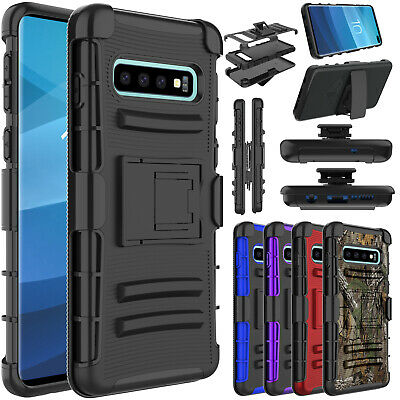 For Samsung Galaxy Note 10 S10 Plus 5G With Kickstand Belt Clip Case Phone Cover