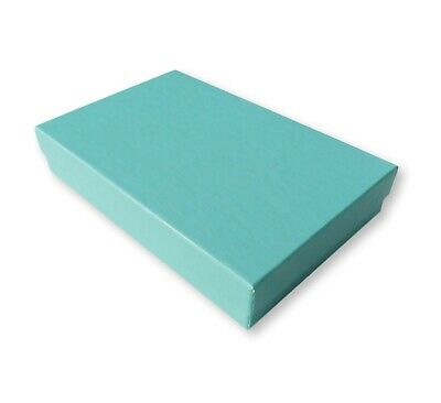 10 Small Aqua Jewellery Gift Boxes,Wedding,Christenings,Cosmetics,Turquoise,Blue