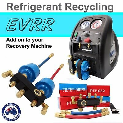 Refrigerant Recycling Kit, For use with Refrigerant Recovery Machines / Units