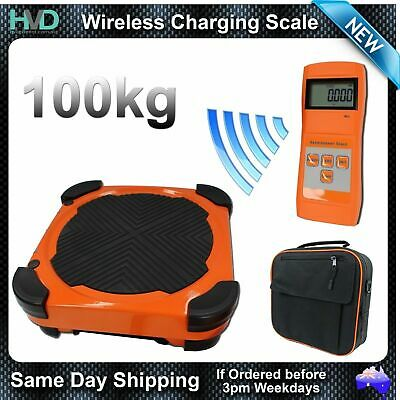 Wireless Refrigeration Charging Scale -100KG 5g Resolution - Carry Bag