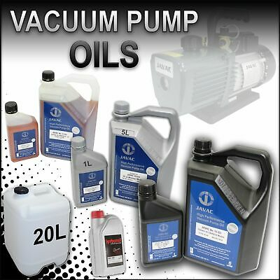 Vacuum Pump Oils -Genuine Quality Grades - ISO 32, 46, 100, LVO 100, 68