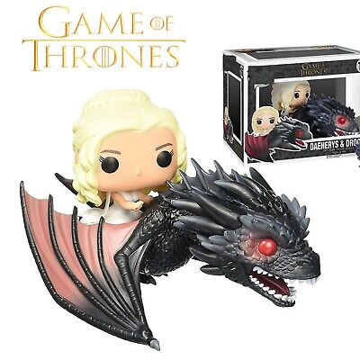 Figura Daenerys & Drogon Game Of Thrones / Juego De Tronos Funko Pop #15 Figure