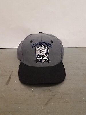 27e27f3494c RARE Vintage NIKE Georgetown Hoyas Hat Cap Snapback 80s 90s