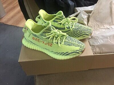 05fb585ad4e99 Adidas Yeezy Boost 350 V2 Men Size 8.5 Semi Frozen Yellow with Box Auth. By