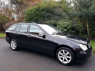 Mercedes-Benz C180 (1.8) Classic (Se) Automatic - Estate - 5 Door - 2007 - Black